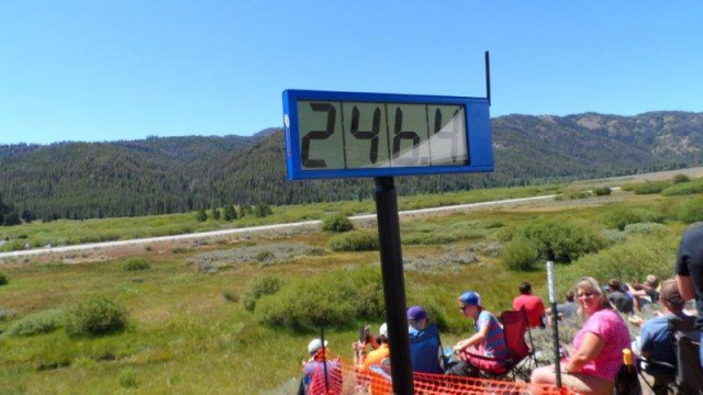 Kỷ lục tốc độ 246,4 mph của Bugatti Veyron Super Sport Pur Blanc tại Sun Valley Road Rally