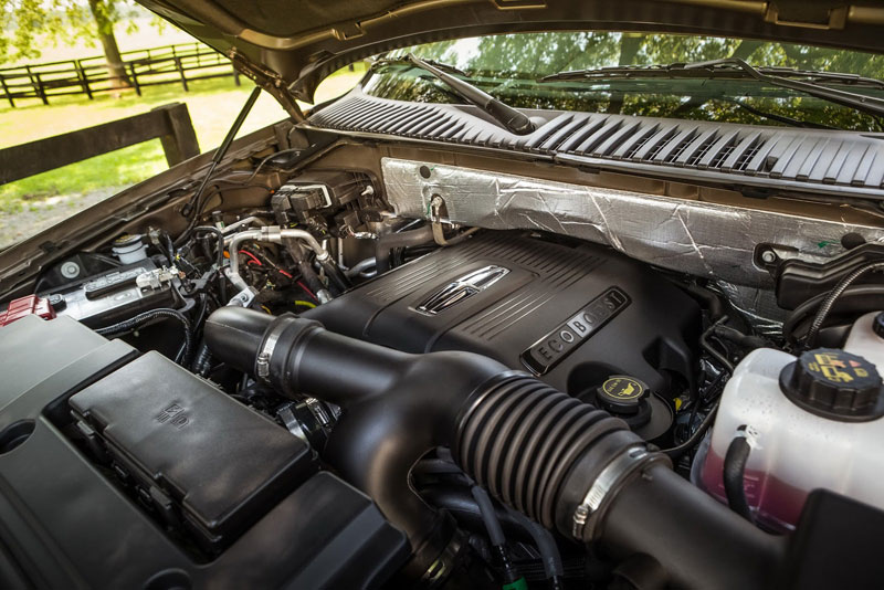 Động cơ mới trên xe SUV hạng sang cỡ lớn nhà Lincoln.