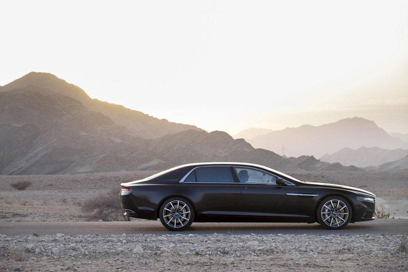 Aston Martin Lagonda tại Oman.