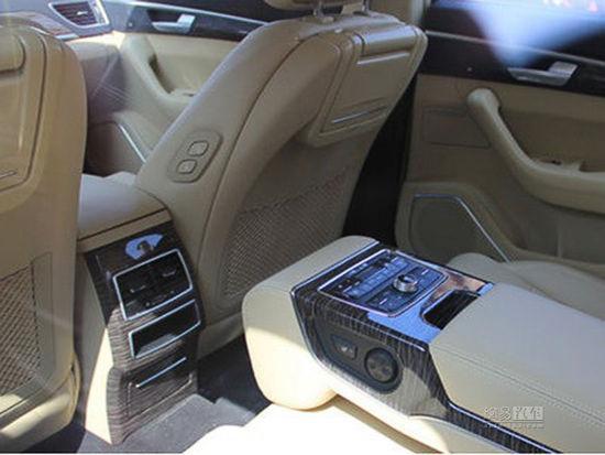 Nội thất của Audi A6 nhái.