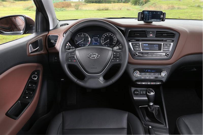 Nội thất của Hyundai i20 mới dành cho thị trường châu Âu.