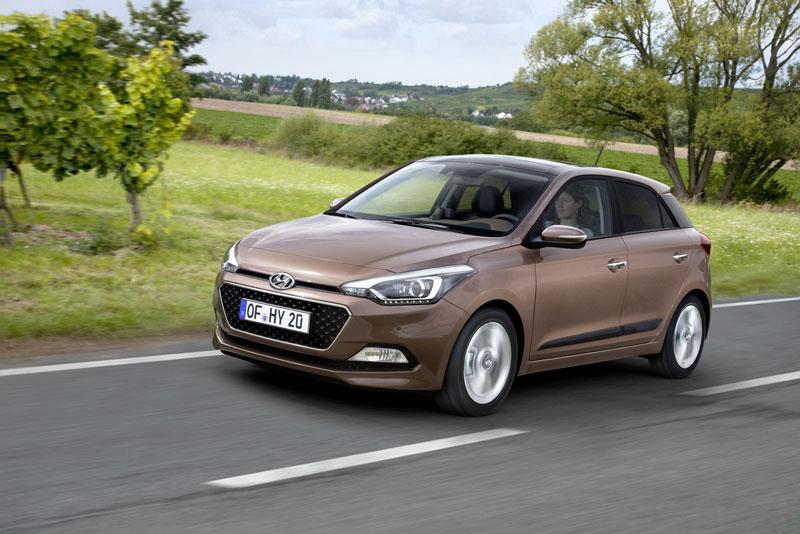 Hyundai i20 thế hệ mới phiên bản châu Âu.