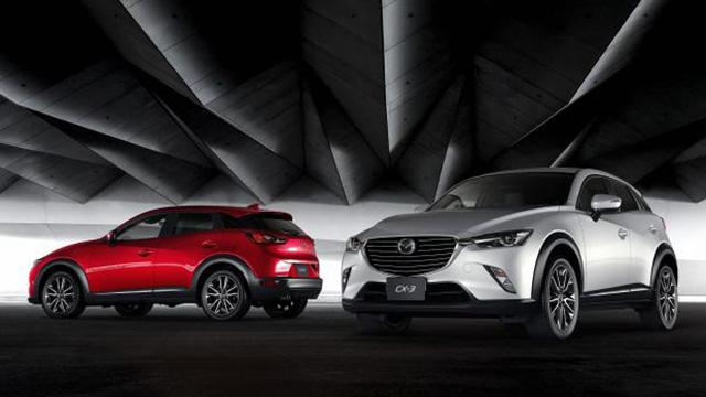 Hình ảnh rò rỉ mới cho thấy thiết kế tổng thể của Mazda CX-3, từ trước ra sau.