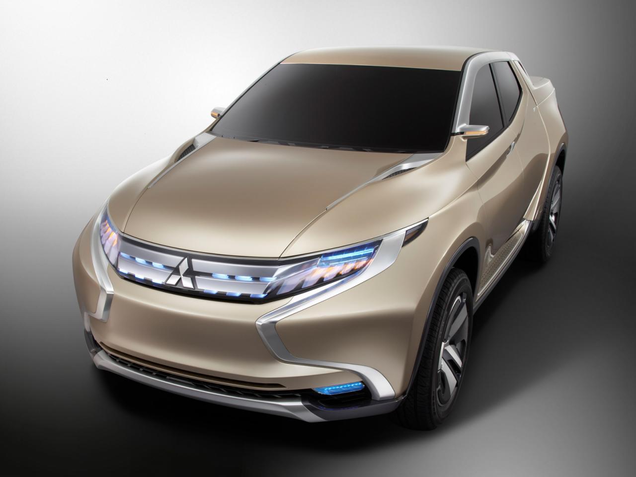 Mitsubishi Triton thế hệ mới sẽ được phát triển dựa trên GR-HEV Concept.