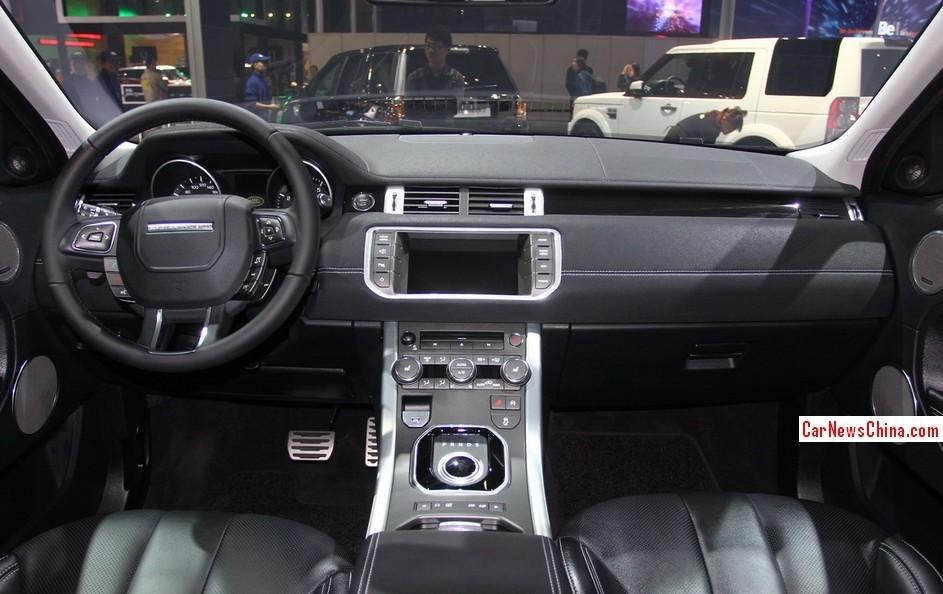 Khoang lái bên trong Range Rover Evoque chính hãng