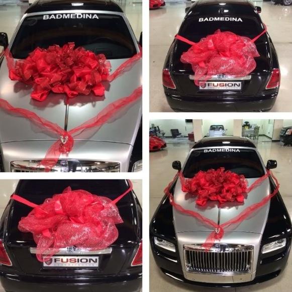Chiếc Rolls-Royce Wraith mà Mayweather tặng bạn gái.