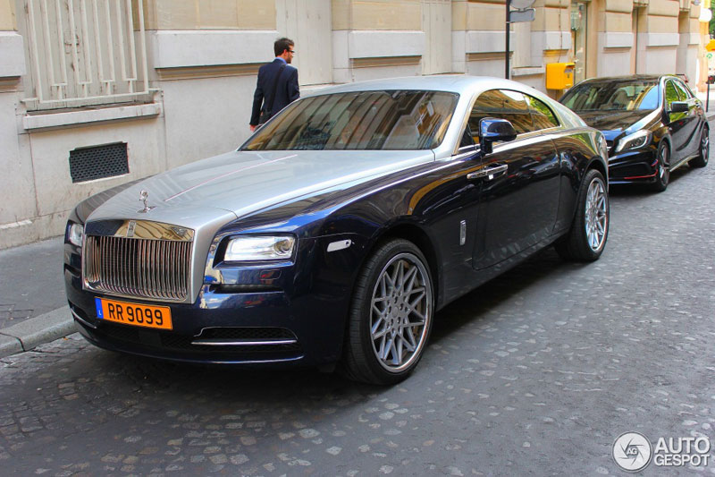 Rolls-Royce Wraith của Samuel Eto'o