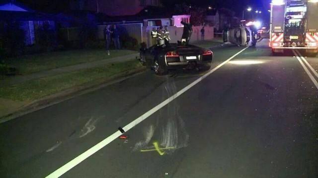 Người cầm lái chiếc Lamborghini Murcielago và gây tai nạn không phải là chủ xe.