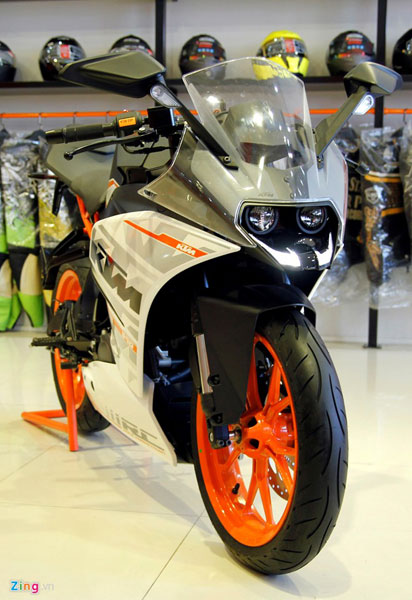 Theo dự kiến, mức giá của cả RC200 và RC390 sẽ rất cạnh tranh.