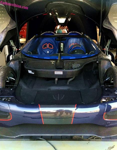 Hiện chưa rõ ai là chủ nhân của chiếc siêu xe Koenigsegg Agera BLT đặc biệt này.