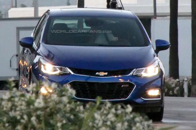 Chevrolet Cruze 2016 dành cho thị trường Mỹ.