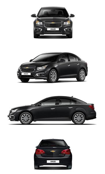 Chevrolet Cruze 2016 dành cho thị trường Hàn Quốc.