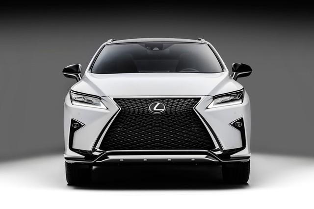 Lexus RX thế hệ mới với thiết kế hao hao NX cỡ nhỏ hơn.