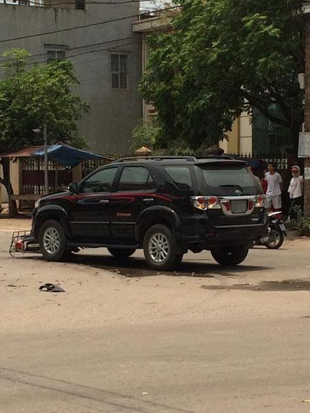 Hiện trường vụ tai nạn (Ảnh: Ngô Đăng Thắng/Otofun).