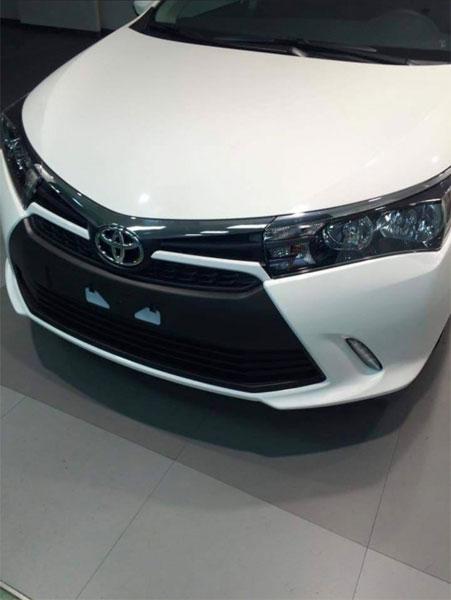 Đầu xe Toyota Corolla phiên bản nâng cấp vừa rò rỉ...