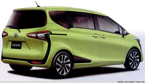Hình ảnh được cho là của Toyota Sienta thế hệ mới.