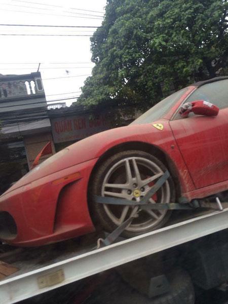 Siêu xe Ferrari 430 Spider...