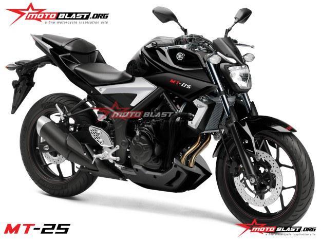 Hình ảnh rõ nhất về Yamaha MT-25