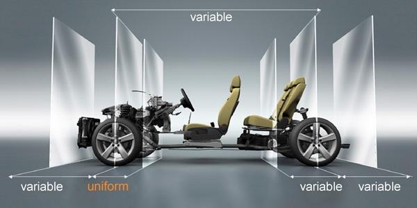 Nền tàng xe ô tô trong tương lai của Volkswagen cho phép người lái xe tuỳ biến chiếc xe của mình thông qua các bộ phần rời hay còn gọi là các module.