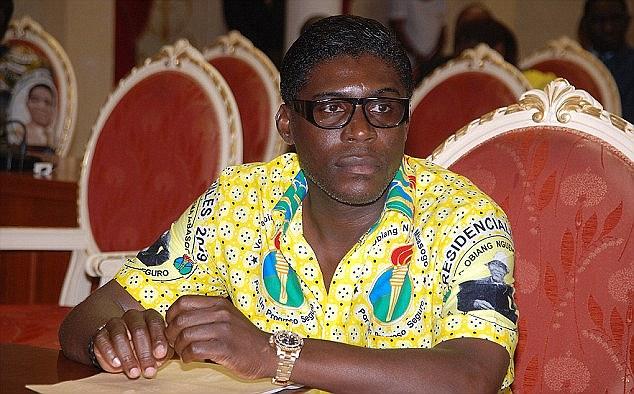 Chân dung ông Teodoro Nguema Obiang Mangue