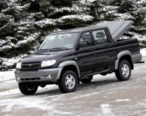 UAZ Patriot và UAZ Pickup làm mưa làm gió ở thị trường Nga.