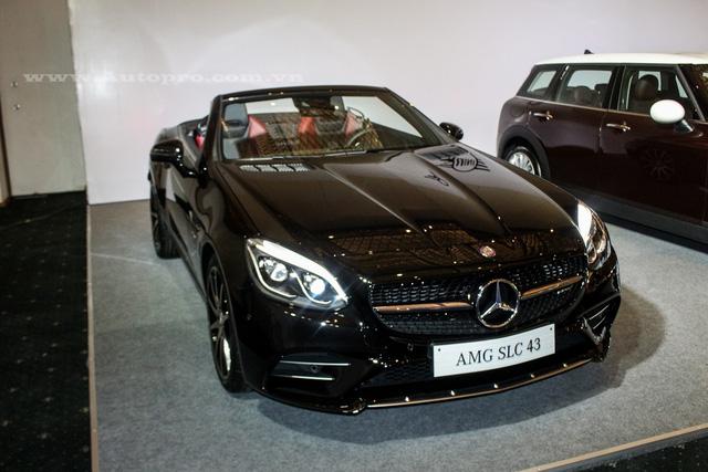 Vén màn dàn xe 2 cửa hấp dẫn của Mercedes Benz tại VIMS 2016 - Ảnh 4.