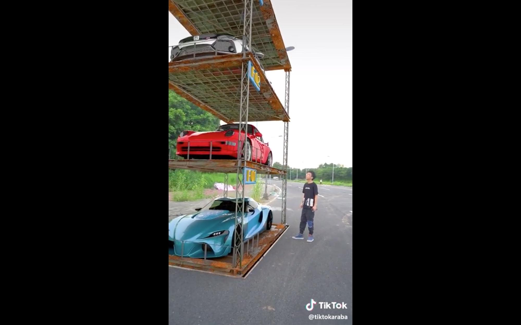 Chiếc garage mà mọi người đều mơ ước