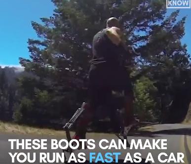 Bạn có thể chạy đua với xe hơi nhờ thiết bị này