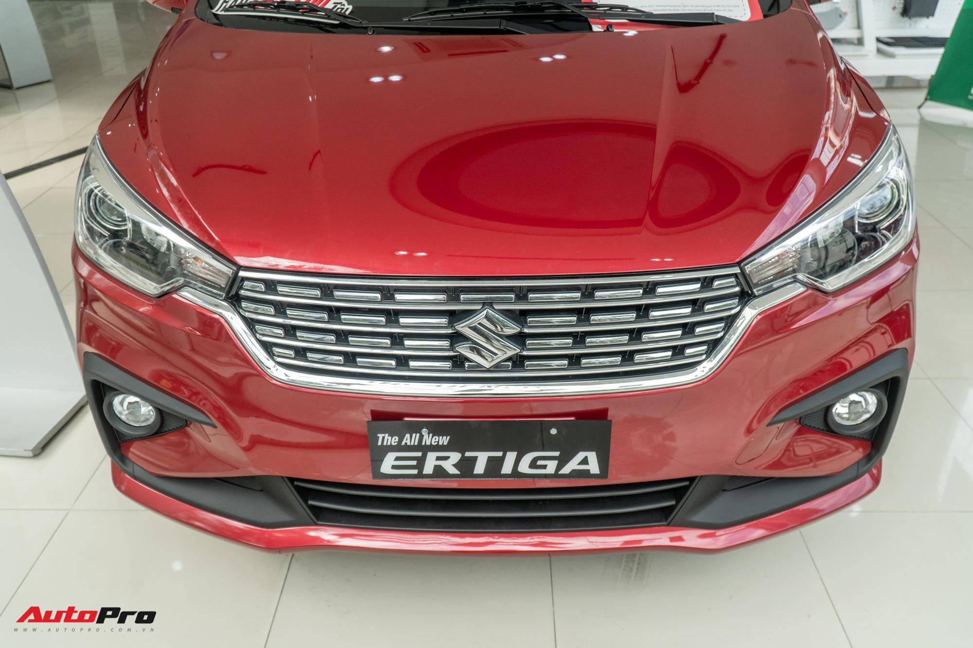 Chi tiết Suzuki Ertiga 2020 vừa về Việt Nam