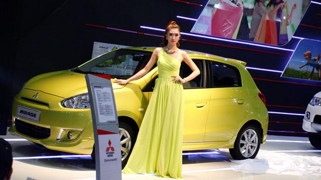 Giá 440 triệu đồng, Mitsubishi Mirage có gì 1