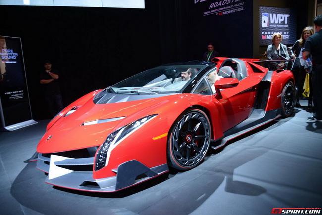 Mượn siêu xe đắt nhất thế giới để khoe loa tại CES 2014 2