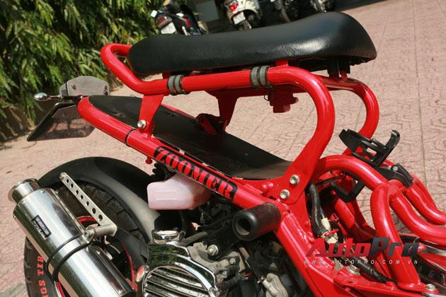 Honda Zoomer độ tại Sài Gòn, khi dấu ấn cá nhân là tất cả 14