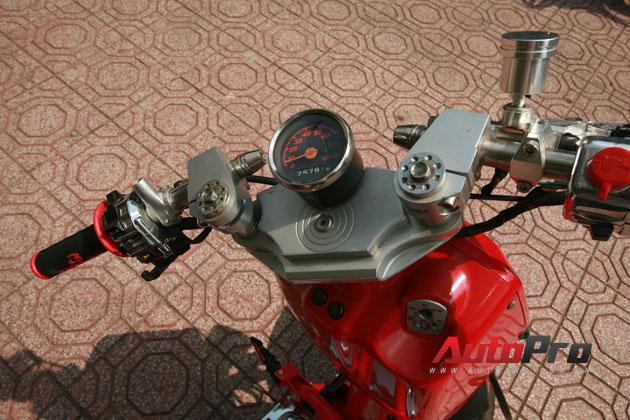 Honda Zoomer độ tại Sài Gòn, khi dấu ấn cá nhân là tất cả 15