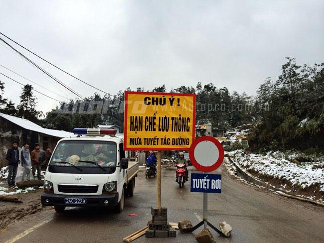 10 lời khuyên an toàn khi lái xe ngắm tuyết Sapa 3
