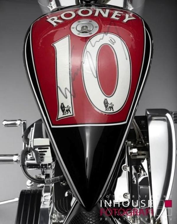Rao bán Cruiser được thiết kế bởi Wayne Rooney 2