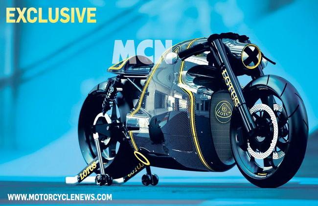 Hé lộ hình ảnh siêu môtô Lotus C-01 1