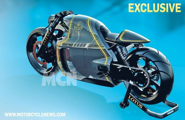 Hé lộ hình ảnh siêu môtô Lotus C-01 2