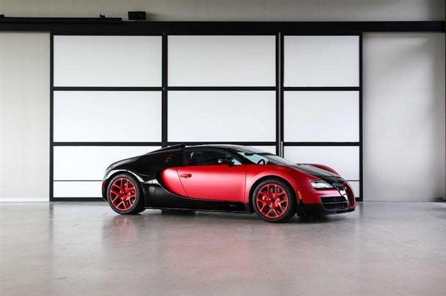 """""""Rao vặt"""" siêu xe Bugatti Veyron Grand Sport Vitesse màu độc tại Mỹ 2"""