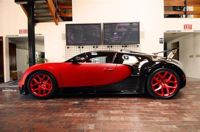 """""""Rao vặt"""" siêu xe Bugatti Veyron Grand Sport Vitesse màu độc tại Mỹ 3"""
