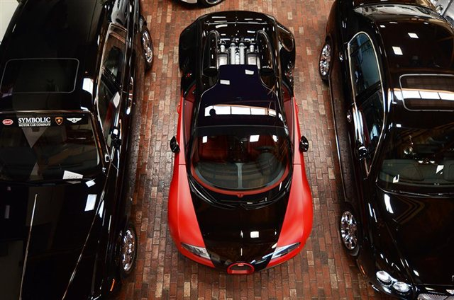 """""""Rao vặt"""" siêu xe Bugatti Veyron Grand Sport Vitesse màu độc tại Mỹ 4"""