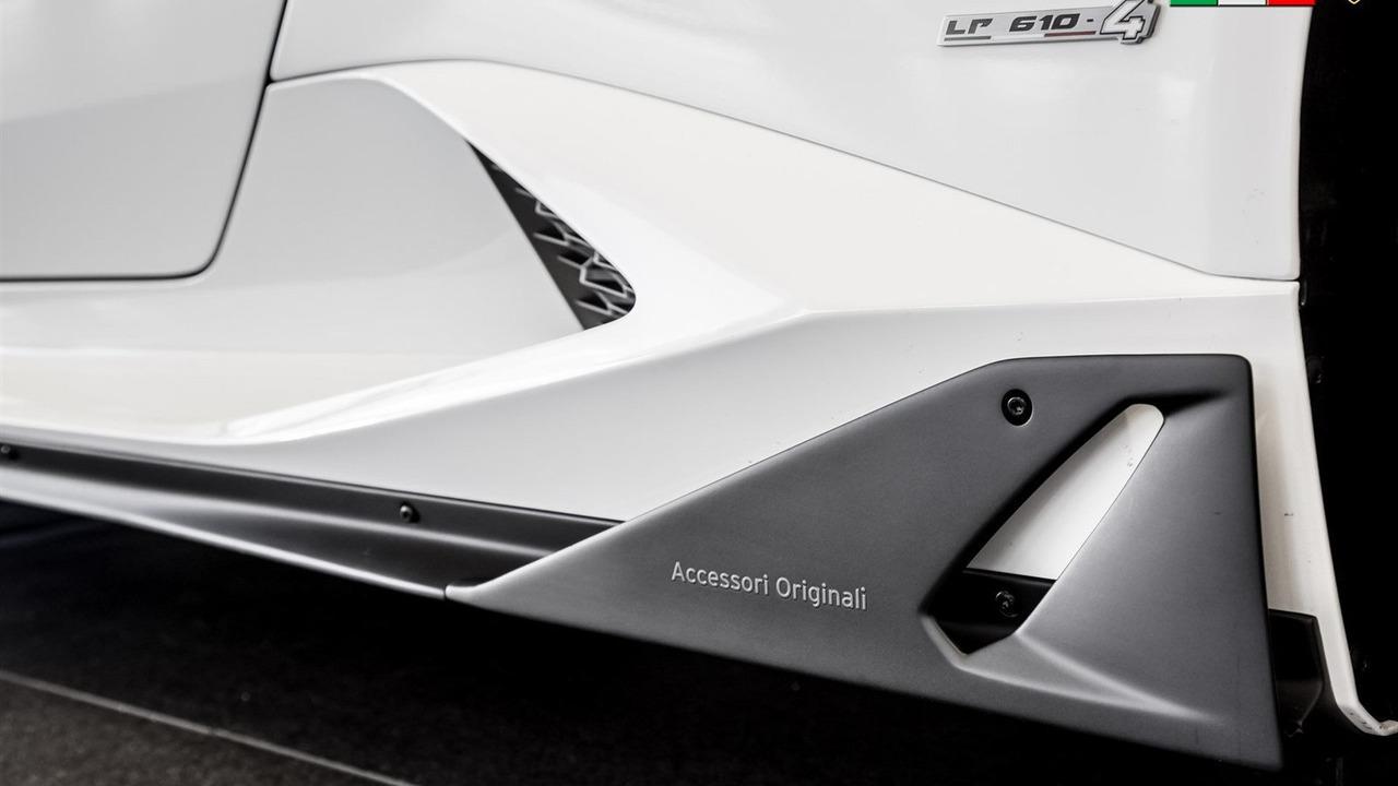 Các gói phụ kiện kể trên đều nằm trong catalogue Accessori Originali của Lamborghini.