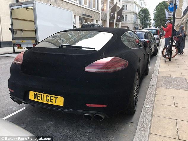 Đại gia chơi trội với xe sang Porsche Panamera bọc nhung - Ảnh 5.