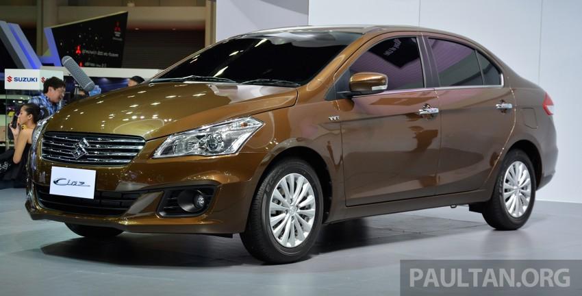 Tại thị trường Việt Nam, Suzuki Ciaz sẽ là đối thủ của những mẫu sedan cỡ nhỏ như Toyota Vios, Honda City, Nissan Sunny và Mazda2 Sedan.