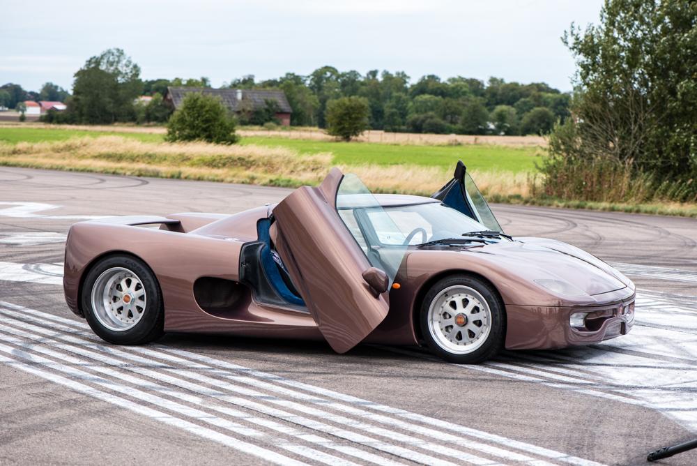Chiếc xe nguyên mẫu đầu tiên của Koenigsegg.