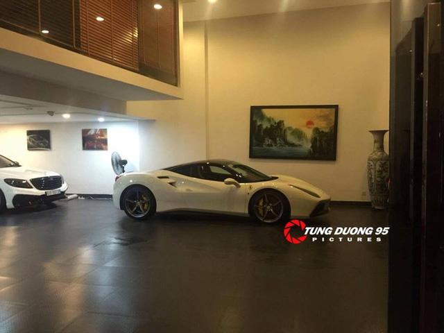 Ferrari 488 GTB nằm trong gara của đại gia phố núi. Ảnh: Tung Duong 95
