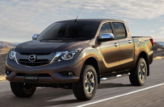 Phiên bản nâng cấp mới nhất của Mazda BT-50.