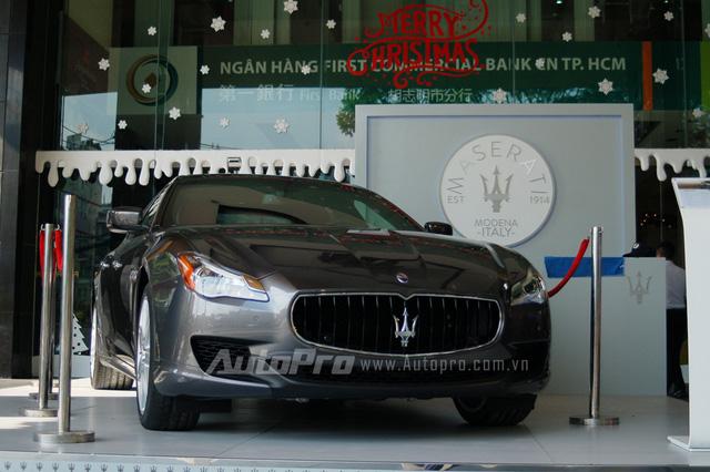 Maserati Quattroporte chính hãng tại Việt Nam.