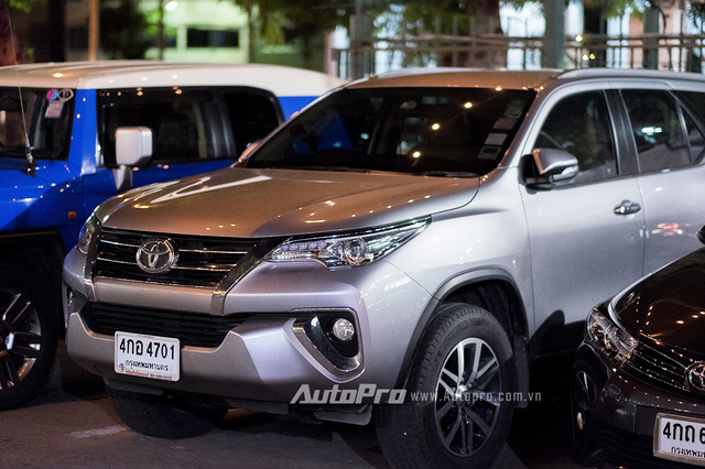 Fortuner thế hệ mới chưa được Toyota Việt Nam đưa về nước.