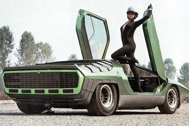 Alfa Romeo Carabo với ý tưởng bọ cánh cứng.