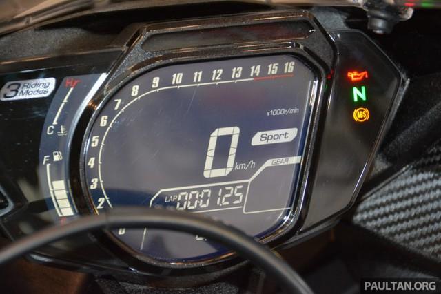Cận cảnh cụm đồng hồ của Honda CBR250RR